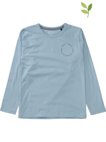 Marc O'Polo Junior Koszulka w kolorze błękitnym