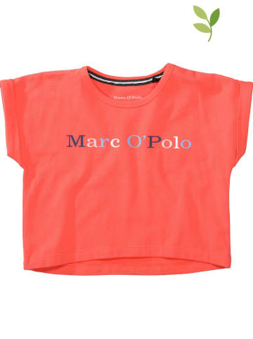 Marc O'Polo Junior Koszulka w kolorze koralowym