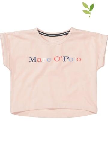 Marc O'Polo Junior Koszulka w kolorze jasnoróżowym