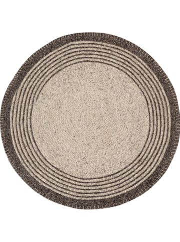 "Tierra Bella Tapijt ""Round Beige"" beige - Ø 90 cm"