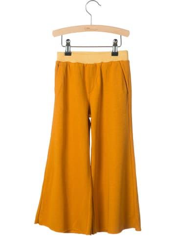 "Little Hedonist Stoffen broek ""Jules"" oranje"