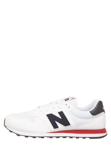 """New Balance Sneakersy """"500"""" w kolorze czarno-białym"""