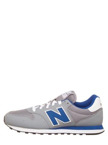 "New Balance Sneakers ""500"" lichtgrijs/blauw"