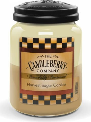 "The CANDLEBERRY CANDLE CO. Duftkerze ""Harvest Sugar Cookie"" in Beige/ Creme - 570 g"