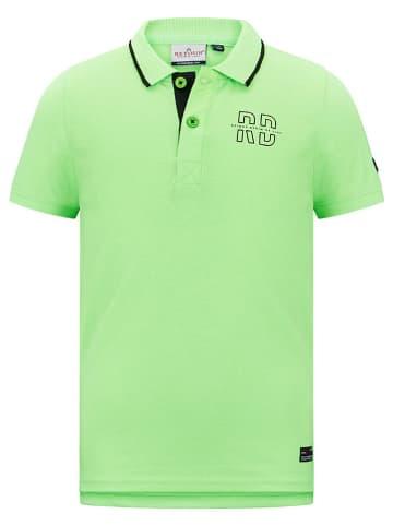 """Retour Poloshirt """"Edmond"""" in Neongrün"""