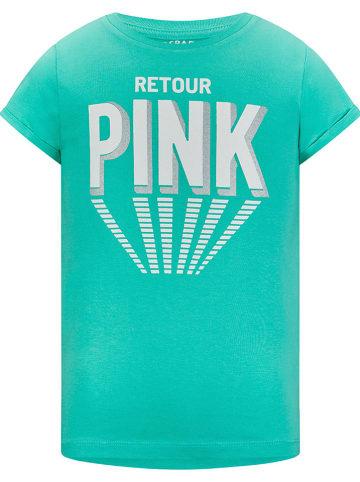 "Retour Shirt ""Drancy"" in Grün"