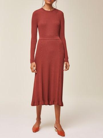 IVY & OAK Spódnica w kolorze czerwonobrązowym