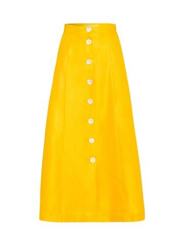 IVY & OAK Spódnica w kolorze żółtym