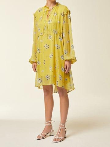 IVY & OAK Sukienka w kolorze żółtym