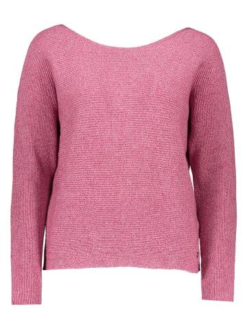 """Mustang Sweter """"Cara"""" w kolorze różowym"""