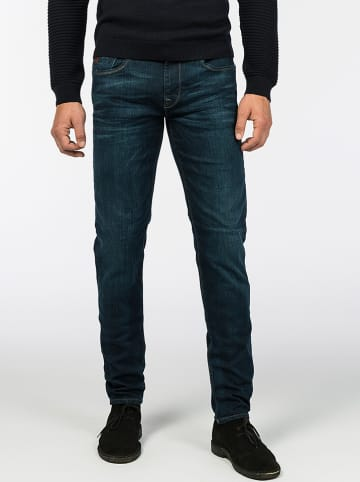 "Vanguard Spijkerbroek ""V7 Rider"" - slim fit - donkerblauw"