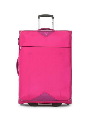 Roncato Softcase-trolley roze - (B)50 x (H)78 x (D)33 cm