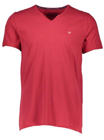 "Mustang Shirt ""Aaron"" rood"
