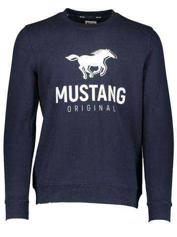 "Mustang Bluza ""Ben"" w kolorze granatowym"