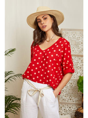 Lin Passion Bluse in Rot