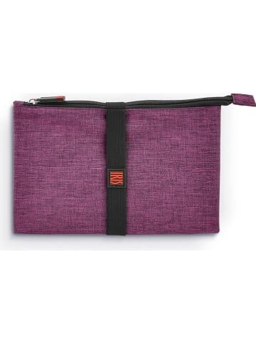 IRIS Torba termiczna w kolorze fioletowym - 30 x 24 x 1 cm