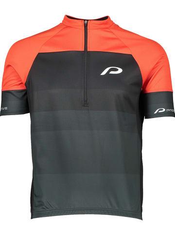 "Protective Fahrradtrikot ""Turin"" in Orange/ Grau/ Schwraz"