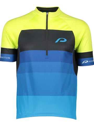 "Protective Fahrradtrikot ""Turin"" in Gelb/ Blau"