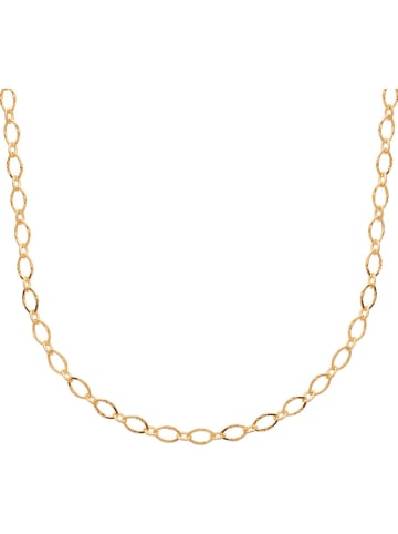 Lucette Vergold. Halskette - (L)45 cm