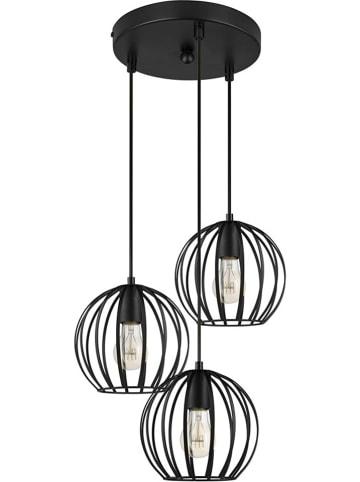 "Lifa Living Hanglamp ""Filip"" zwart - (B)20 x (D)22 cm"