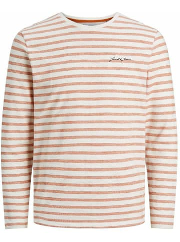 "Jack & Jones Longsleeve ""Stripe"" oranje"