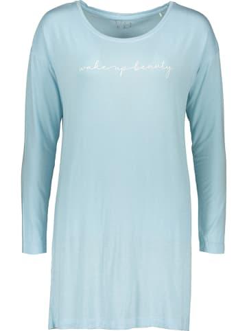 Vivance Koszula nocna w kolorze błękitnym