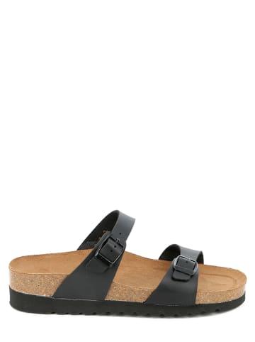 Grünland Slippers zwart