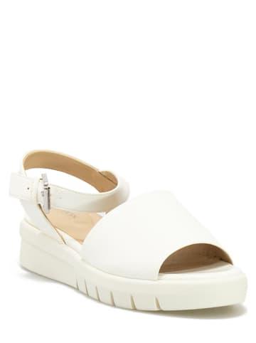 "Geox Leren sandalen ""Wimbley"" crème"
