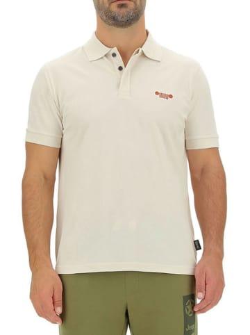 Jeep Poloshirt crème