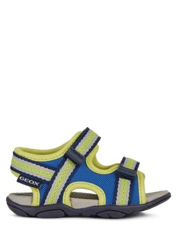 """Geox Sandały """"Agasim"""" w kolorze niebieskim"""