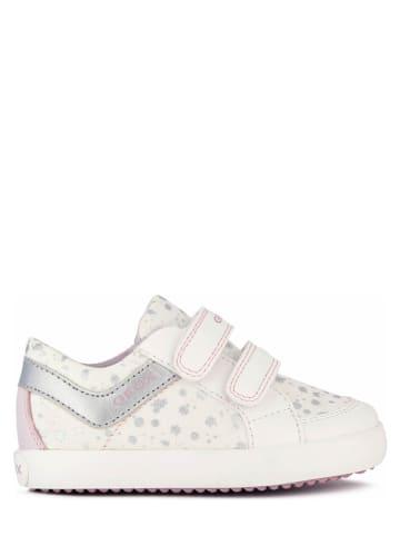 """Geox Sneakers """"Gisli"""" wit"""