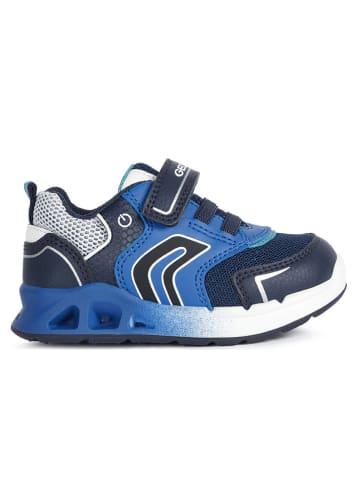 """Geox Sneakers """"Dakin"""" blauw"""