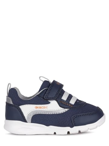 """Geox Sneakersy """"Runner"""" w kolorze granatowym"""