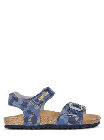 """Geox Sandały """"Ghita"""" w kolorze niebieskim"""