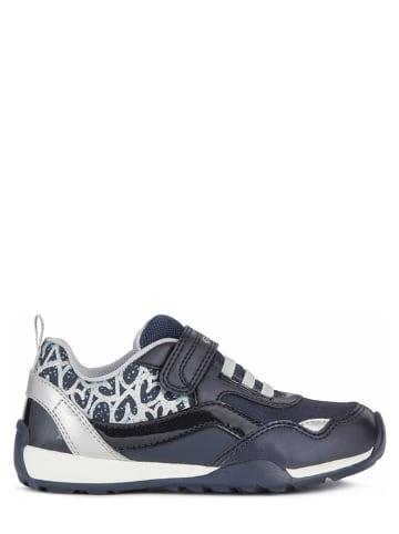 """Geox Sneakersy """"Jocker"""" w kolorze granatowym"""