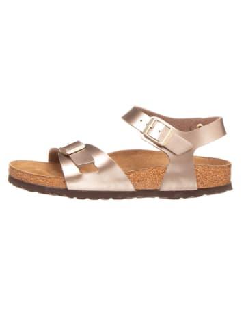 """Birkenstock Sandały """"Rio"""" w kolorze jasnobrązowym"""
