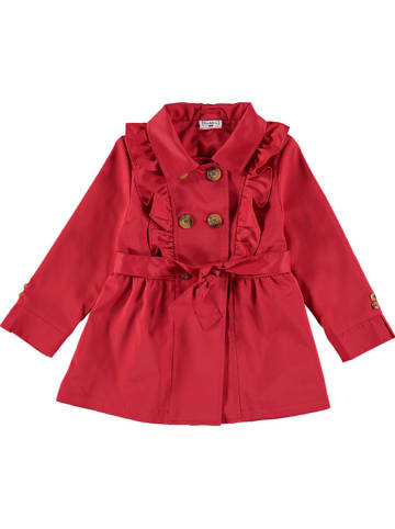 Bimbalina Trenchcoat in Rot