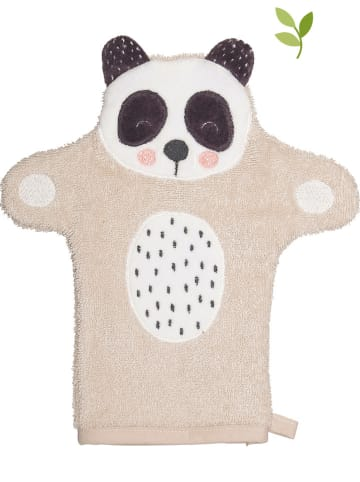 "Soedahl Washandje ""Penny Panda"" beige - (L)21 x (B)11 cm"