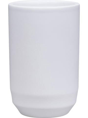 """Soedahl Zahnputzbecher """"Fragment"""" in Weiß - (H)11 x Ø 7 cm"""