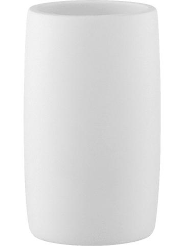 """Soedahl Zahnputzbecher """"Mono"""" in Weiß - (H)11 x Ø 6,5 cm"""