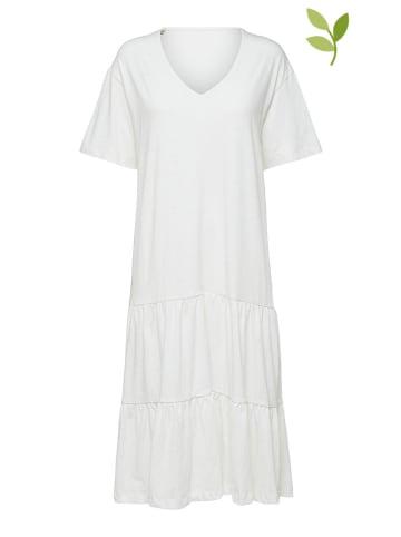 "SELECTED FEMME Sukienka ""Rreed"" w kolorze białym"