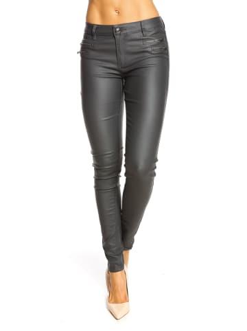 """Saint Germain Paris Jeans """"Frieda"""" - Slim fit - in Grau"""