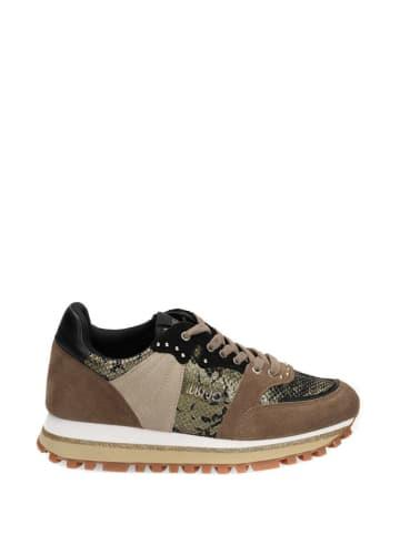 Liu Jo Sneakersy w kolorze brązowym