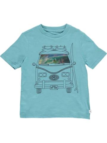 GAP Koszulka w kolorze błękitnym