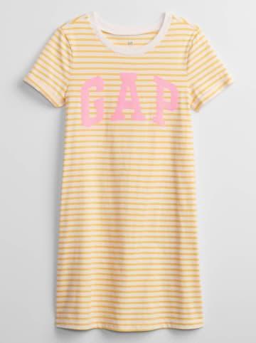 GAP Nachthemd in Gelb