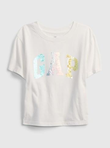 GAP Koszulka w kolorze białym