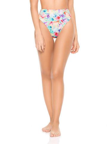 "PHAX swimwear Omkeerbare bikinislip ""Aqua"" turquoise/meerkleurig"