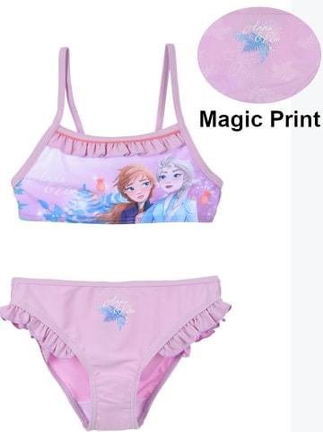 """Disney Frozen Bikini """"Frozen""""w kolorze jasnoróżowym"""