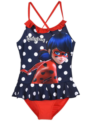 "Miraculous Badpak ""Lady Bug"" donkerblauw"