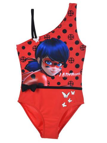 """Miraculous Strój kąpielowy """"Lady Bug"""" w kolorze czerwonym"""
